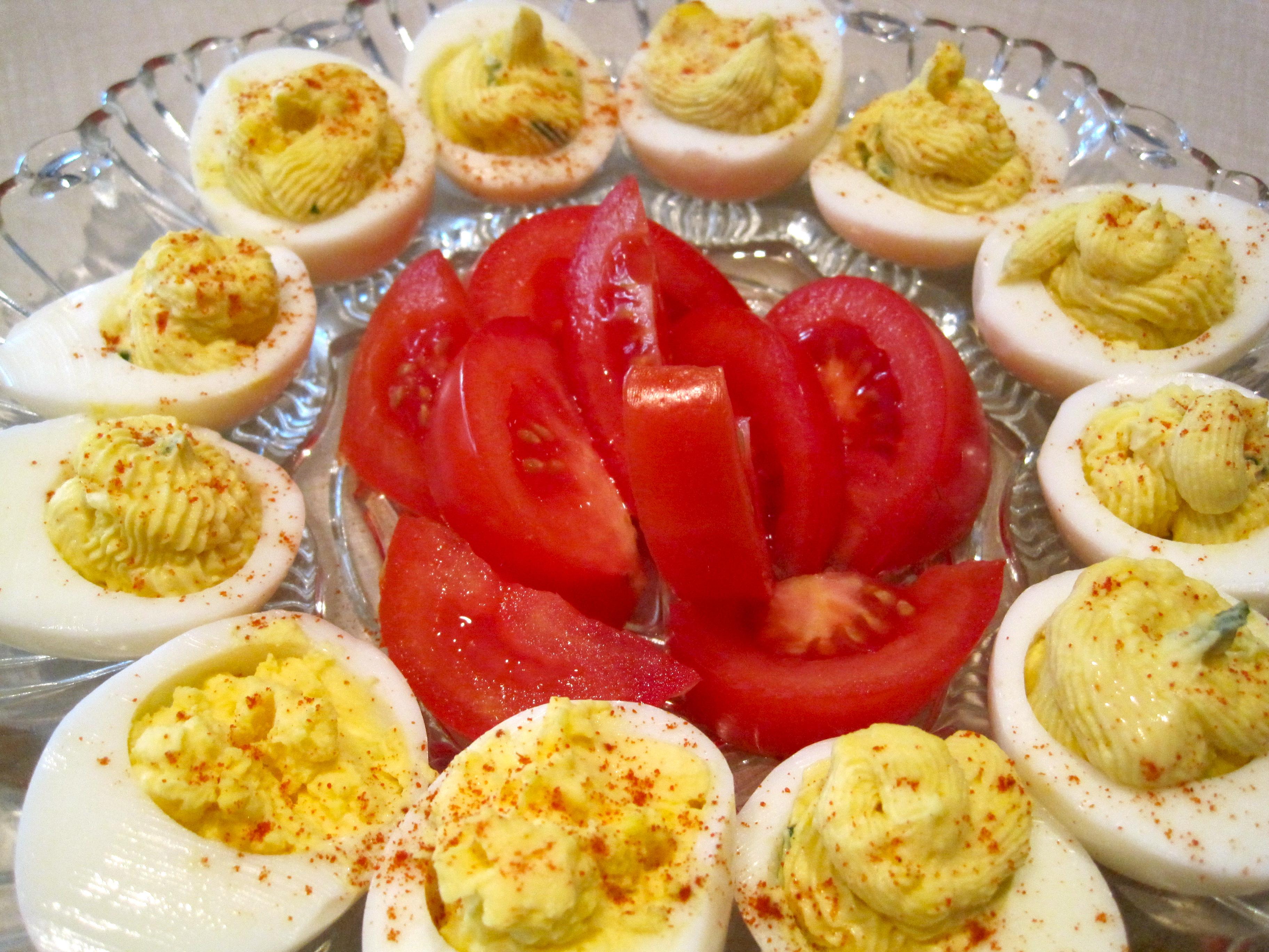 Deviled Eggs – Warm Vanilla Sugar