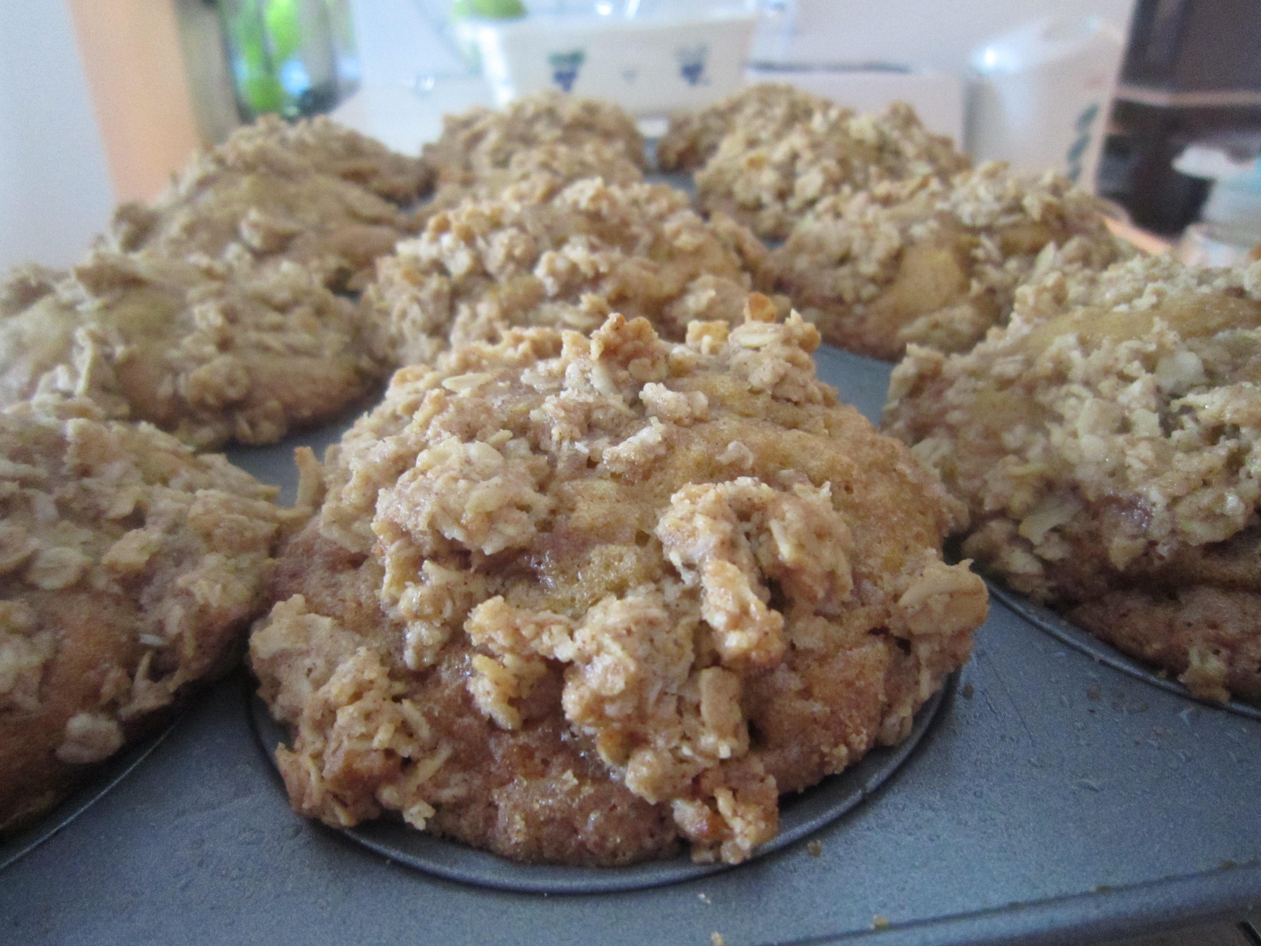 Pumpkin Cinnamon Streusel Muffins