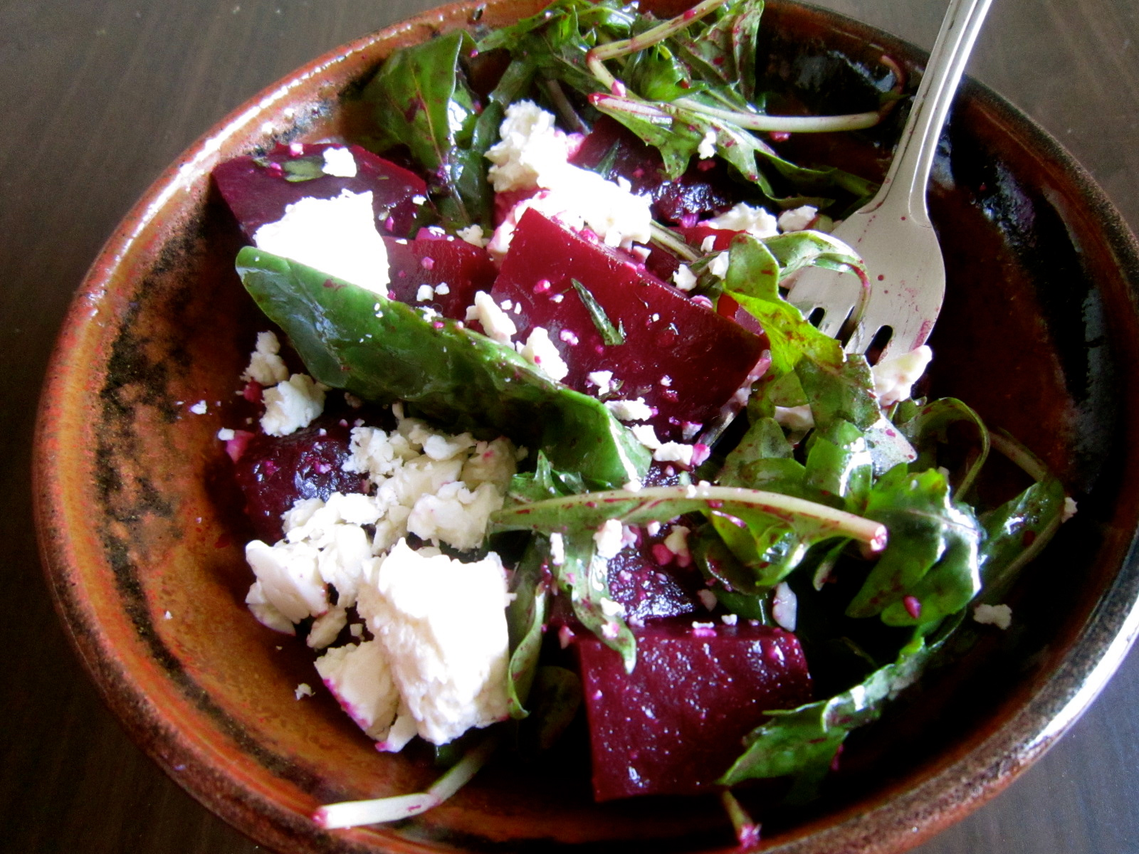 Roasted Beet and Feta Salad - Warm Vanilla Sugar