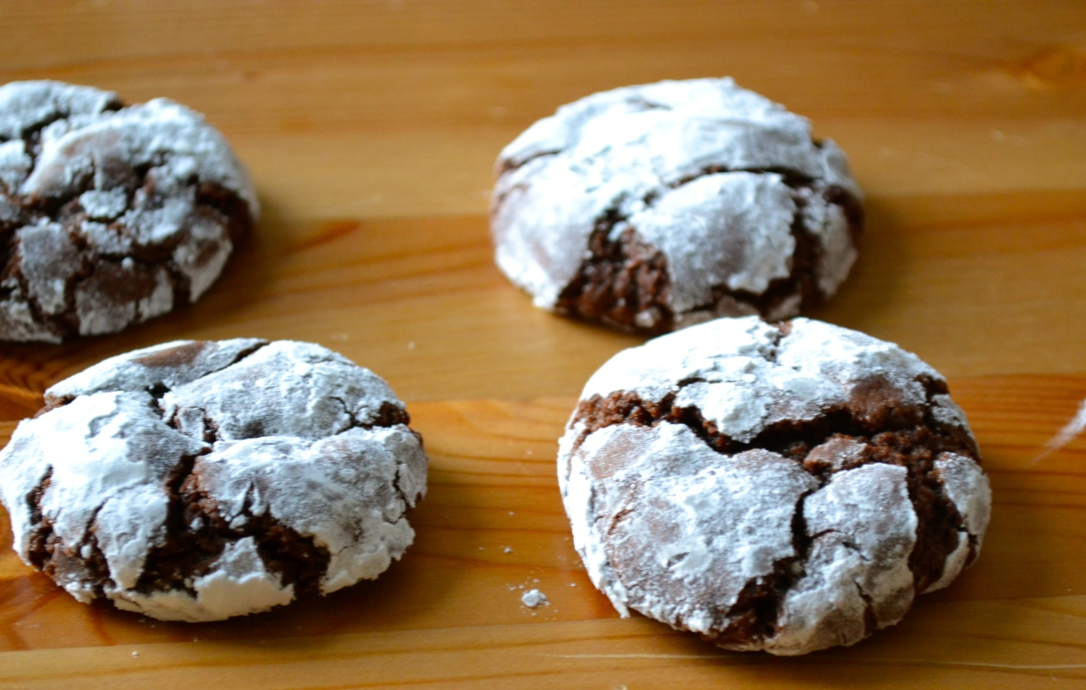 Chocolate Crinkle Cookies – Warm Vanilla Sugar