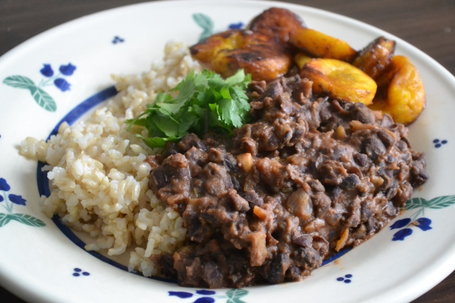 Costa Rican Black Beans and Butter Honey Plantains – Warm ...
