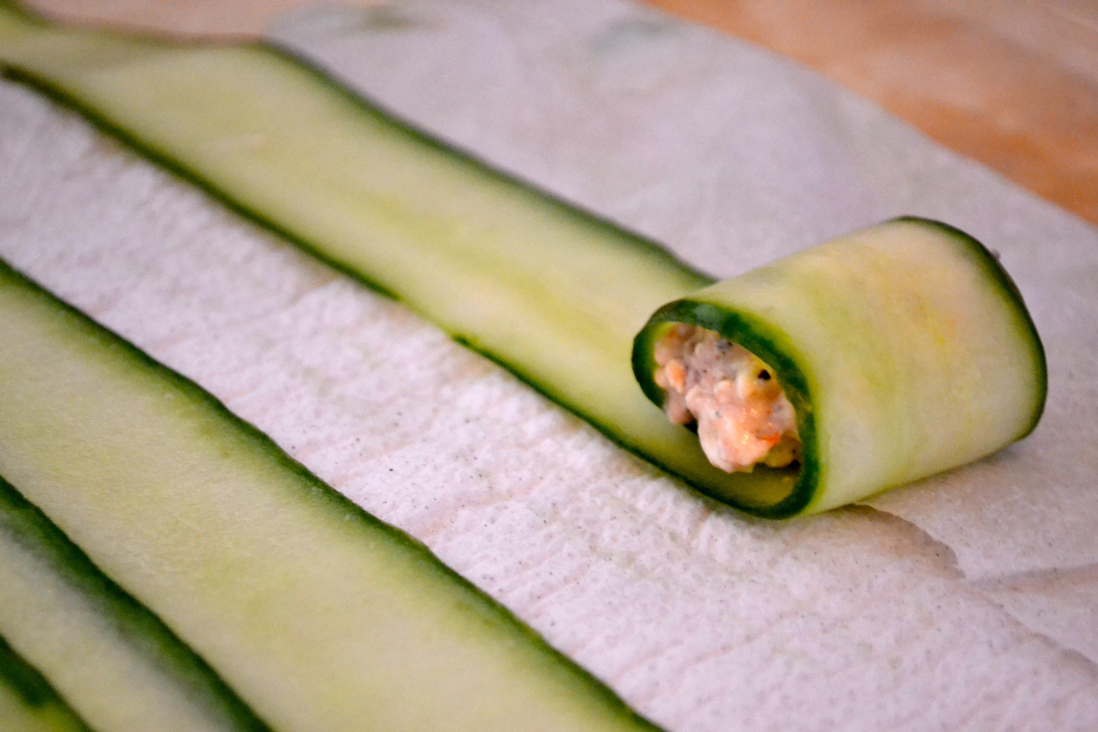 Cucumber Feta Rolls – Warm Vanilla Sugar