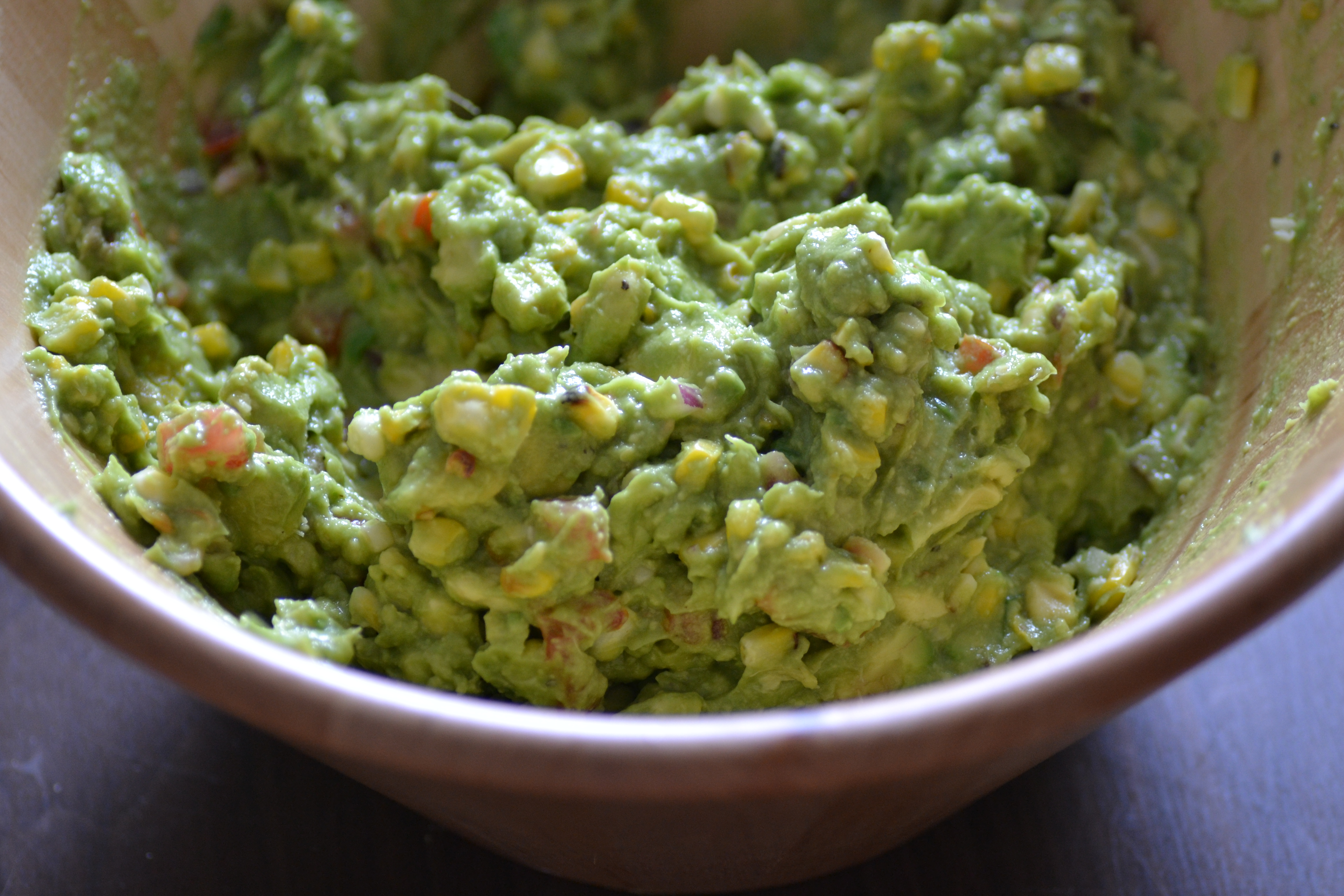 ... guacamole roasted corn red pepper guacamole guacamole recipe two peas