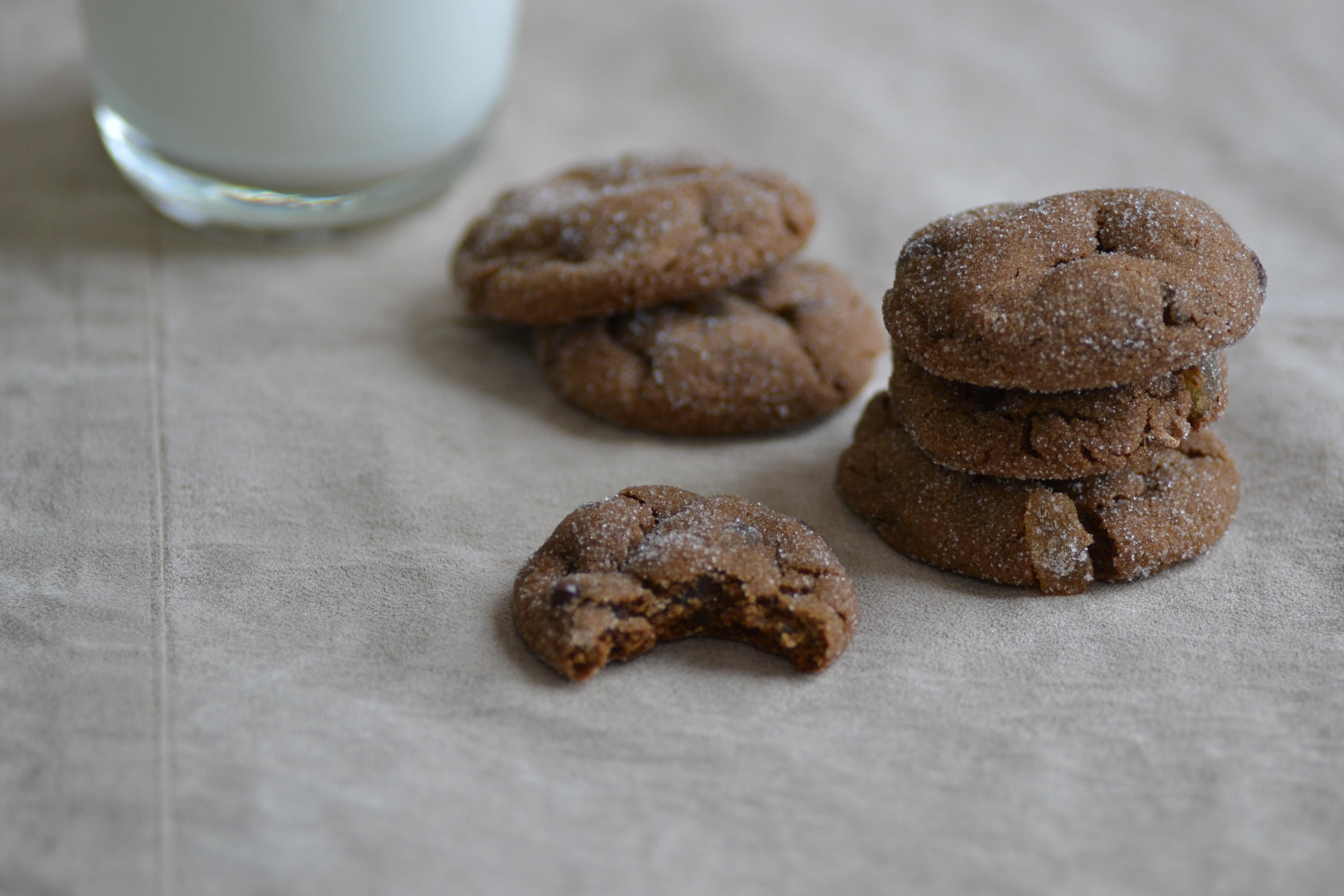 Chocolate Gingerbread Cookies - Warm Vanilla Sugar