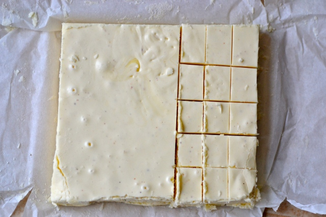 Eggnog Fudge // Warm Vanilla Sugar