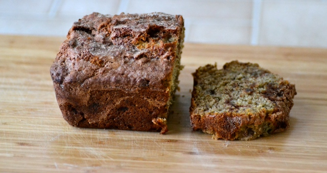 Cinnamon Swirl Banana Bread {Warm Vanilla Sugar}
