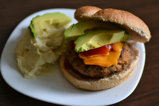 Black Bean Burgers // Warm Vanilla Sugar